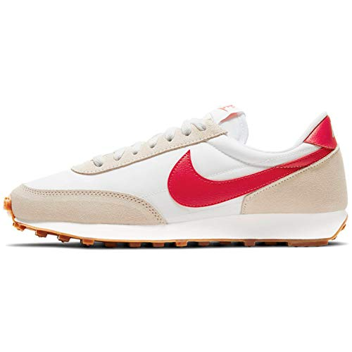 Nike Zapato casual para mujer Dbreak Ck2351-103, blanco (Summit White/University Red), 42.5 EU