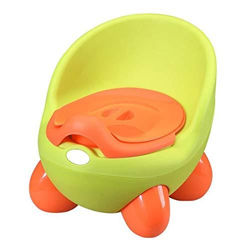 Vasino per bambini Vasino Toilet Seat Ciotola portatile pot Formazione Pan for bambini I bambini Padella confortevole schienale igienici ragazzi delle ragazze del fumetto Pentole ( Color : PJ3552A )