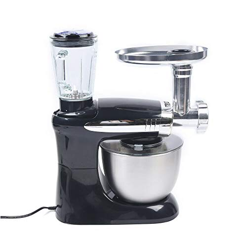 Robot de cocina, agitador, mezclador, 3 en 1, para batir huevos, carne...