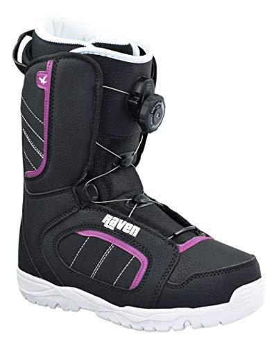 RAVEN Damen Snowboard Boots Diva ATOP mit Schnellverschluss (37 (23,5cm))