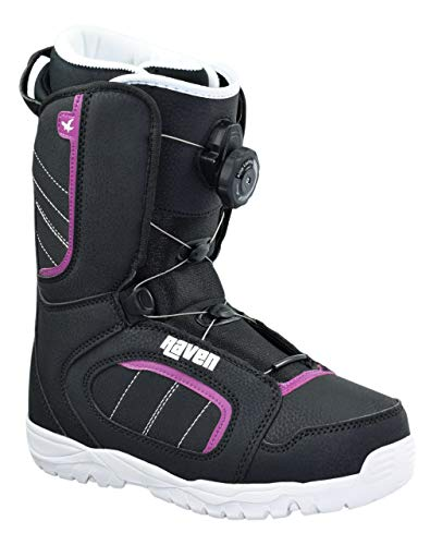 RAVEN Damen Snowboard Boots Diva ATOP mit Schnellverschluss (42 (27cm))