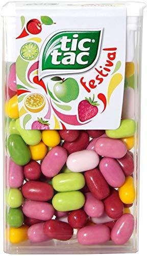 Tic Tac festival t100 49 gr | 16x | Peso totale 784 gr