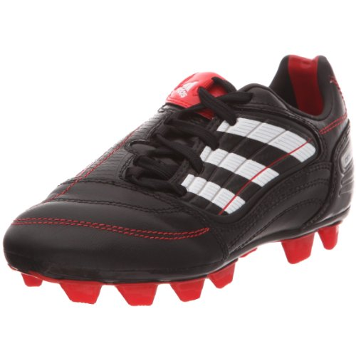 Adidas X Absolado_x FG J, Botas de fútbol para niño, Negro (Noir/Blanc prédator/Rouge prédator), 38