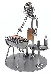 Schraubenmännchen Grill Barbecue Freizeit I Handarbeit I Geschenkidee I Metallfigur I Metallmännchen I Stahlfigur I Schraubenmännle