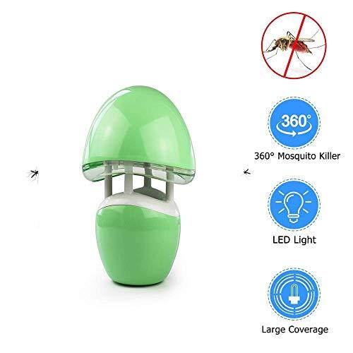 ZXL Vliegenlamp, afstandsbediening, aromatherapie, luchtbevochtiger, safe voor thuis, multifunctionele muggenbestrijding voor binnen en buiten, C
