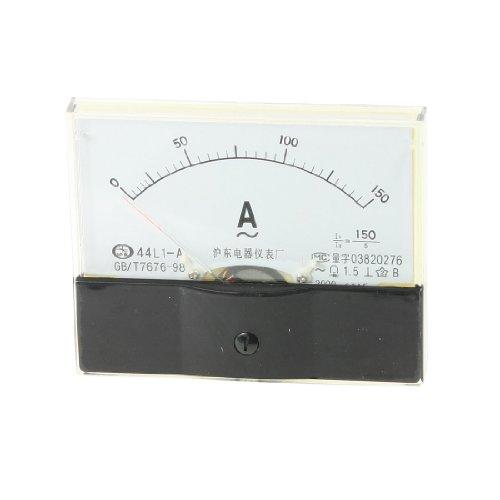Aexit Klasse 1,5 Genauigkeit AC 0-150A Analoges Messgerät Weiß Klar (3dddd9ef055e0d524c22b866f78b615f)