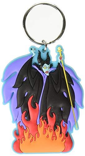 Disney Villains Soft Touch PVC Key Ring: Maleficent