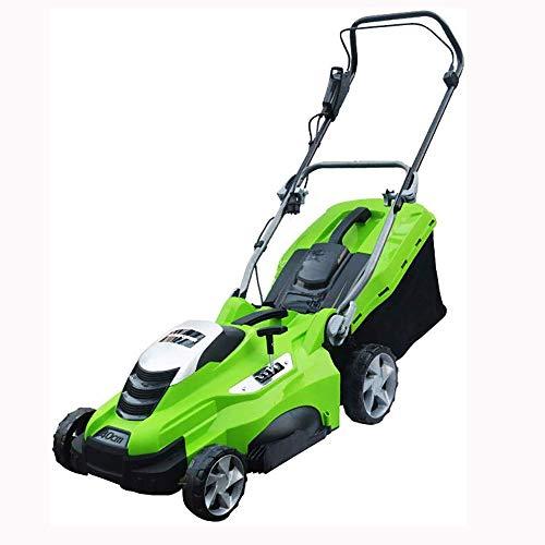 ZAIHW Spingere con Filo Elettrico Lawn Mower a Mano Automatico del Tipo Lawn Mower Casa Multifunzione Lawn Mower Lawn Mower (Color : 1800W, Size : 20Mpowercord)