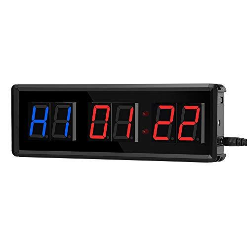 APROTII Timer Intervallo Conto alla Rovescia/Orologio Cronometro con Telecomando