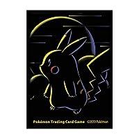 海外ポケモンセンター限定 ポケモンカードゲーム デッキシールド カードスリーブ ピカチュウチョーク Pikachu Chalk 並行輸入品