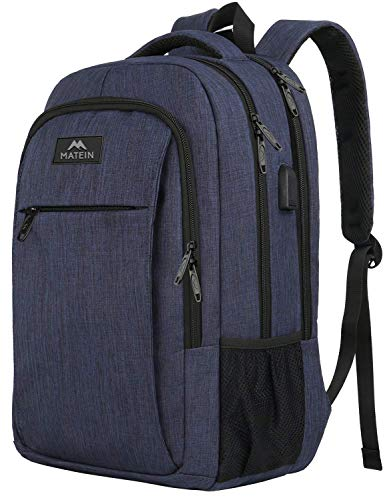 Laptop Backpack with USB Charging Port,Slim Travel Backpack with Laptop Compartment for Men and...