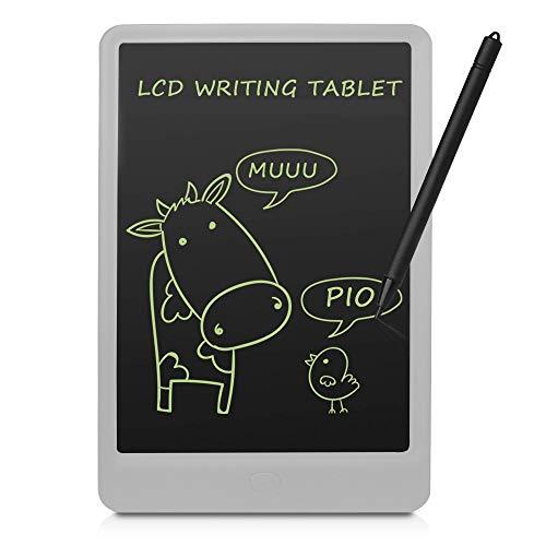 conecto LCD Schreibtafel digital Writing Tablet Grafiktablet Schreib-/Malbrett 10 Zoll, weiß