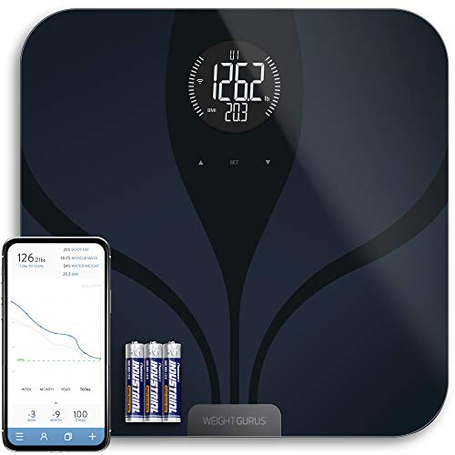 Greater Goods Digital Smart Scale for Body Weight | US-Based Company Powered by Superior Service & Dependable Products | (Black Bluetooth)