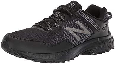 New Balance Men's 410 V6 Trail Running Shoe, Black/Black, 11 M US