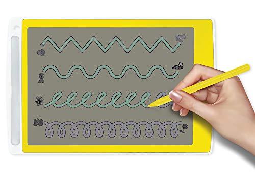 TimeTEX Digitale Schiefertafel TD - innovative und tolle Lösung für Schreib-, Rechen- und Schwungübungen - Maße: ca. 26,5 x 17 cm - 84002