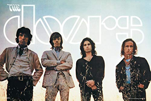 Pyramid America The Doors Waiting for The Sun Jim Morrison Classic Rock Music Band Retro Vintage Cool Wall Decor Art Print Poster 24x36
