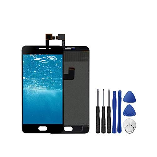 GIAO Montaje LCD Pantalla Fit For UMI Plus/Plus E Pantalla LCD Pantalla + Sensor Digitalizador De Pantalla Táctil Reemplazo Pantalla táctil LCD de teléfono (Color : UMI Plus Black)