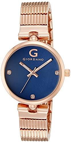 Giordano Analog Blue Dial Women's Watch - A2058-55