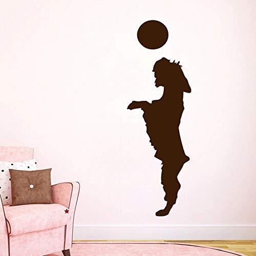 yaonuli Jugar Pelota Pegatinas de Pared Cachorro Decoración para el hogar Calcomanías de Pared para Perros Sala de Estar Decoración de la habitación de los niños 85X43cm