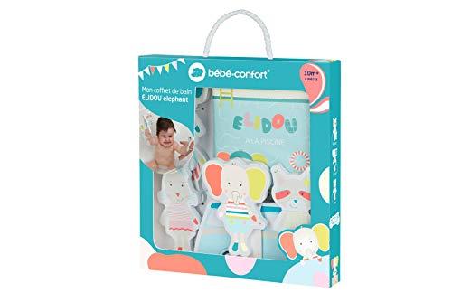 Bébé Confort Coffret jouets de Bain pour bébé Elidou, Livre de bain et Puzzle de bain