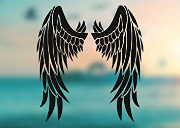 Wings Vinyl Decal Feather Decal Angel Decal Wings Truck Decal Wings Car Decal Wings Bike Decal Wings Decal Wings Sticker