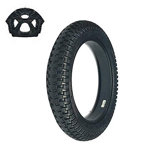 CHHD Neumáticos para patinetes eléctricos, neumáticos macizos de Panal de Abeja 12x2.125, absorción de Impactos Hueca, no Requiere inflado, a Prueba de explosiones y Resistentes al desg