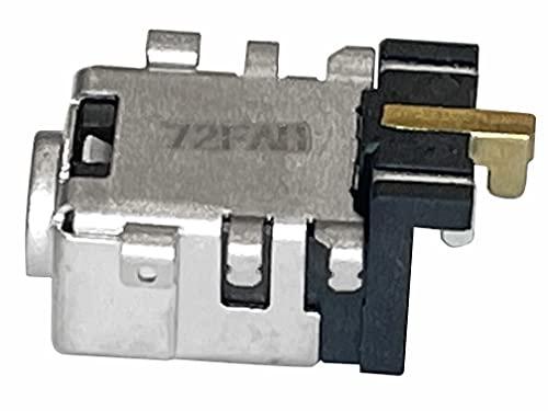 HT ImEx - Conector de fuente de alimentación CC Jack hembra de carga, conector de alimentación compatible con Asus F541U, F541UA, X456UA, X456UB, X456UF.