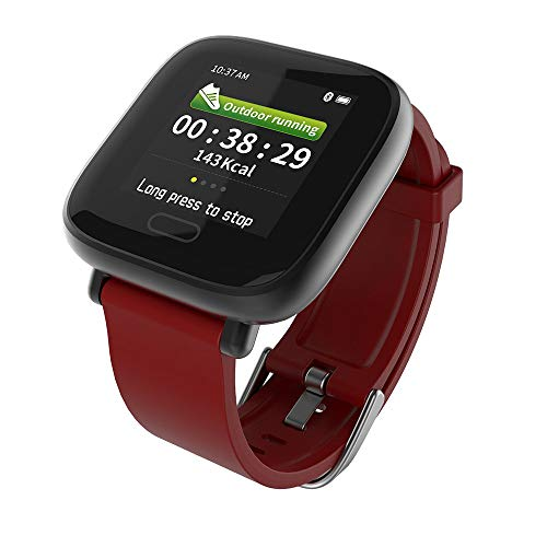 Strong Durable Best Bakeey Bakeey YH1 New UI Display Heart Rate Blood Pressure Oxygen Alarm Reminder Sport Smart Watch