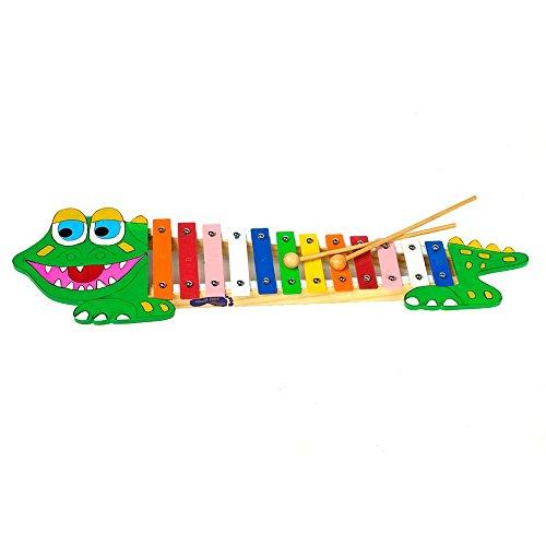 small foot design - 7977 - Jouet Musical - Xylophone - Crocodile