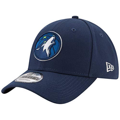 New Era Minnesota Timberwolves 9forty Adjustable Cap The League Blue - One-Size