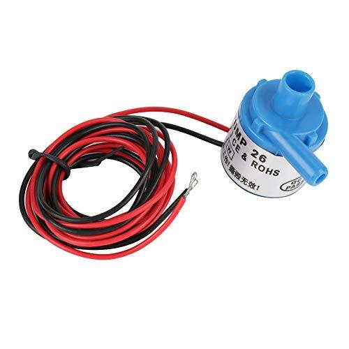 Bomba de agua de Akozon, mini bomba de agua sumergible sin cepillo de la categoría alimenticia 6V DC 3W para los instrumentos médicos de la fuente del acuario