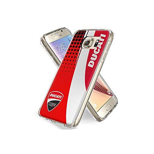 YtSMAO Cover Galaxy S6 Edge Bumper Cover [Anti-Graffio] [Antiurto] Custodia Trasparente Protettiva Case per Samsung Galaxy S6 Edge #I