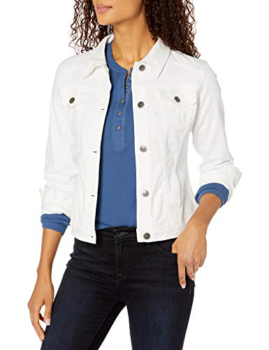 Riders by Lee Indigo Women's Stretch Denim Jacket, White, Small