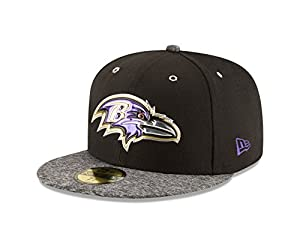 NFL 2016 Draft BALTIMORE RAVENS 59FIFTY Fitted Cap-8
