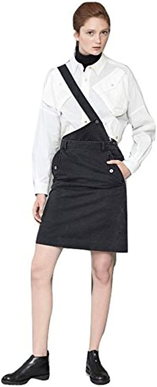 MARC BY MARC JACOBS WOMEN'S CLASSIC COTTON CROSSBODY STRAP SKIRT 4