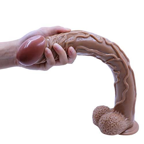 UsmànZY6 Fàllǒ Spǒt Vǎgǐnǎlè, Bacchetta Wireless for Donna Uomo Principianti Doppio Strumento Realistico for la Cura Personale del Corpo |Lungo: 42cm, Diametro: 5cm