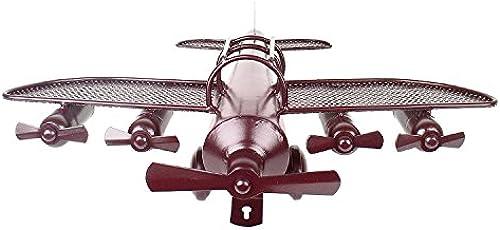 Artshai Antik Style rot Flugzeug Modell