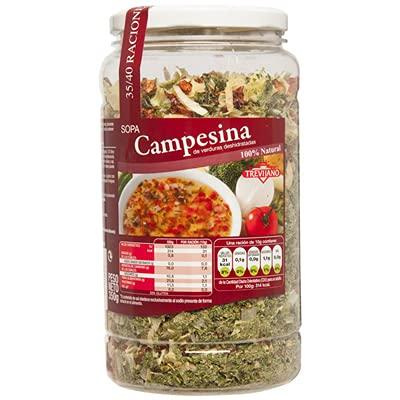 Trevijano - Zuppa contadina di verdure disidratate - 100% naturale - 350 grammi