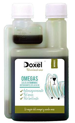 Doxel Senior-100ml Aceite para perros| Suplemento| Antiinflamatorio| Anti envejecimiento| Articulaciones sanas| Sistema...