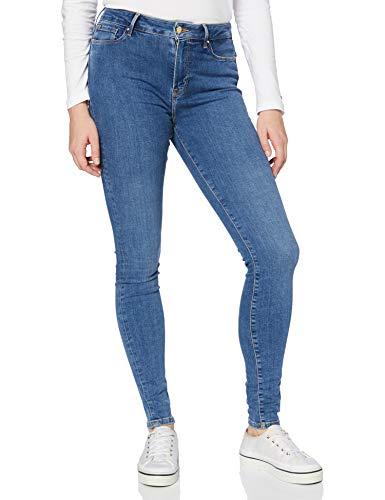 Tommy Hilfiger Mujer Th Flex Harlem U Skinny Hw Bel Pantalones, Blau, W28 / L34