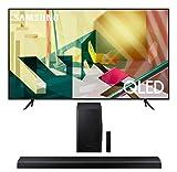 "Samsung QN82Q70TA 82"" QLED Ultra High Resolution Smart HDR 4K TV with a Samsung HW-Q70T 3.1.2 Ch Dolby Atmos Soundbar with Wireless Subwoofer (2020)"