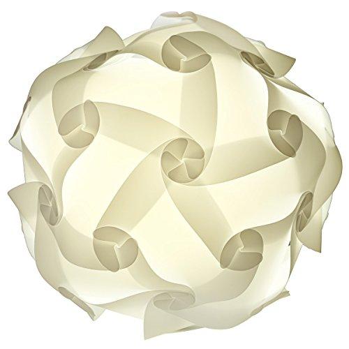 25cm Puzzle Lampe Schirm Jigsaw Puzzlelampe Puzzelteile DIY Hängelampe Schirm Puzzlezusammensetzung Hängeleuchte Lampenschirms Deckenlampe Pendelleuchte Schirm Deko
