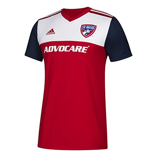 adidas FC Dallas Jersey Replica Home Soccer Jersey (XXX-Large)