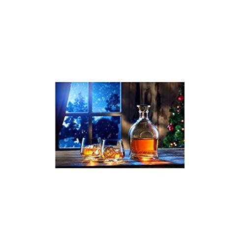 JinYiGlobal Wein Bier Leinwand Malerei Plakate und Drucke Skandinavische Wandkunst Lebensmittel Bild für Küche Raumdekor 60x90cm (23,6