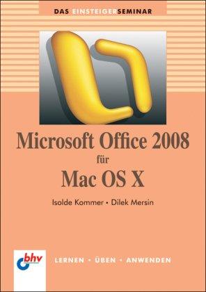 Microsoft Office 2008 für Mac OS X