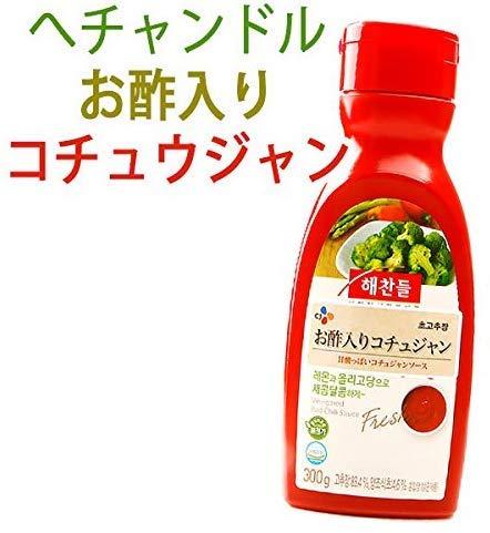 韓国 調味料 味噌 ヘチャンドル お酢入り コチュジャン 300g