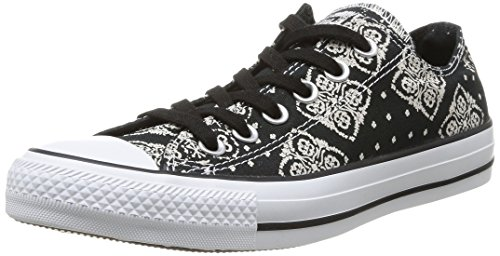 Converse Chuck Taylor Bandana Prt, Damen Sneaker, Schwarz (Noir),  36 EU (3.5 UK)