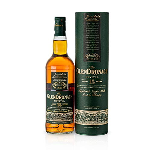 Glendronach Revival 15 Jahre Single Malt Scotch Whisky (1 x 0.7 l)