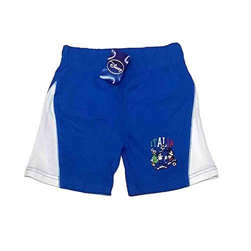 Pantalon court en coton Disney Mickey Bleu de 5 et 7 ans 4 - 5 anni bleu