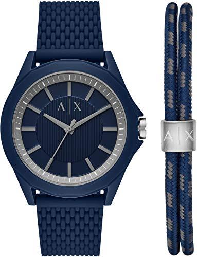 Armani Exchange Drexler reloj de cuarzo para hombre con esfera azul AX7118
